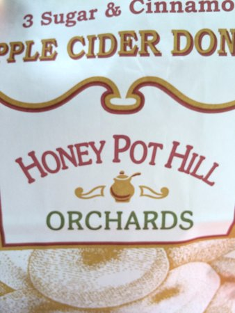 Stow, MA: cider donuts!