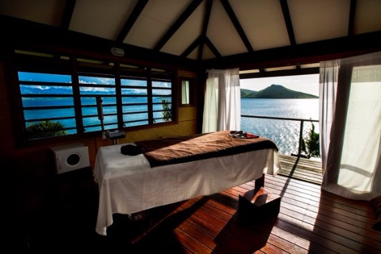 Rakiraki, Fiyi: Spa with a view