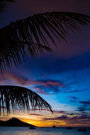 Rakiraki, Fiyi: Late Sunset