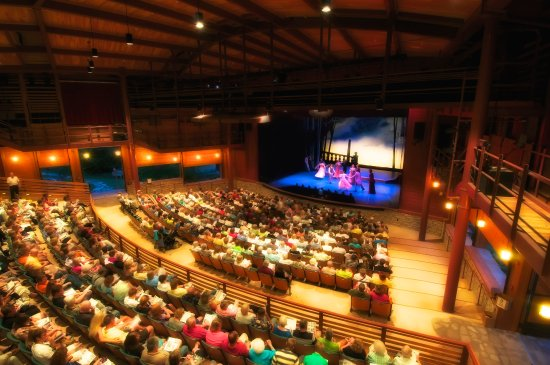 Fish Creek, WI: Audience and company of A LITTLE NIGHT MUSIC by Stephen Sondheim