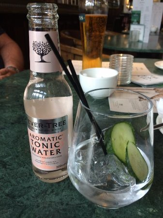 Gin71 Edinburgh Juniper Gin With Cuber And Fever Tree The Best Tonic In