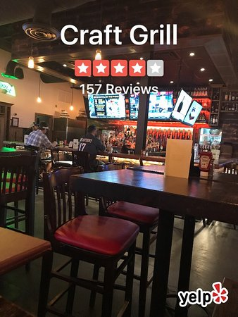Tomball, TX: Lunch menu, bar, shrimp and grits