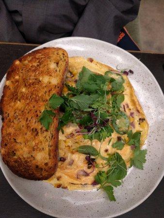 Prahran, Australia: Hey amigo omelette