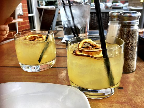 Wheeling, IL: Burnt Lemon Sangria - White wine sangria and Cointreau with caramelized lemons.