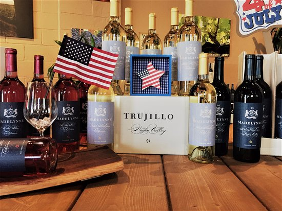 St. Helena, CA: Get your Red, White & Blue for the 4th of July!