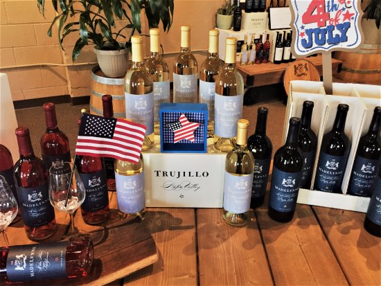 St. Helena, CA: Show your patriotism by enjoying some Red, White, & Blue!