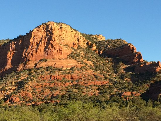 Canyon Villa Bed and Breakfast Inn of Sedona: One of the many great views in Sedona.