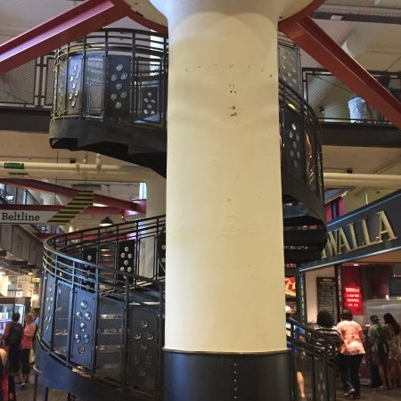 Elegant Ponce City Market: Spiral Staircase