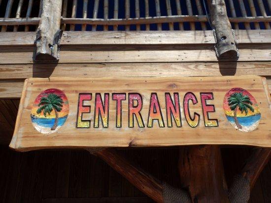 Bacliff, TX: Entrance