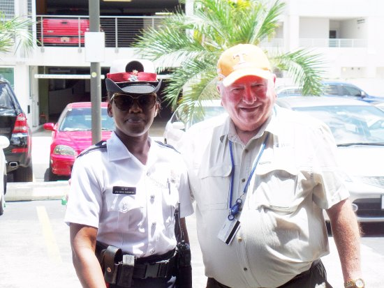Porto di Georgetown (Port of George Town): Everyone was friendly