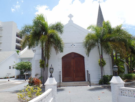 Porto di Georgetown (Port of George Town): Old church in George Town
