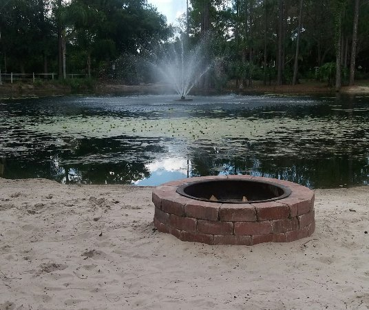Fire-pit at Nature Park - Picture of Champions World ...