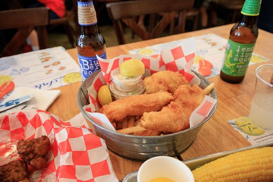 Edgewater, Nueva Jersey: Fish and Chips