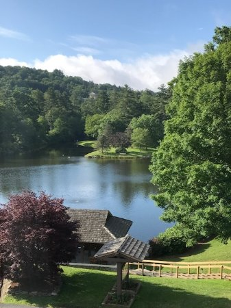 Chetola Resort at Blowing Rock: View from Room 7