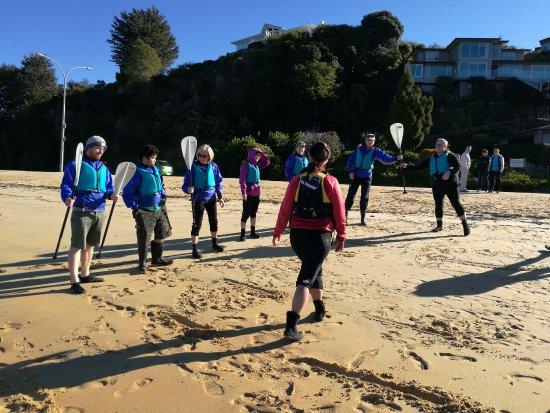 Kaiteriteri, Nueva Zelanda: Te Reo lession