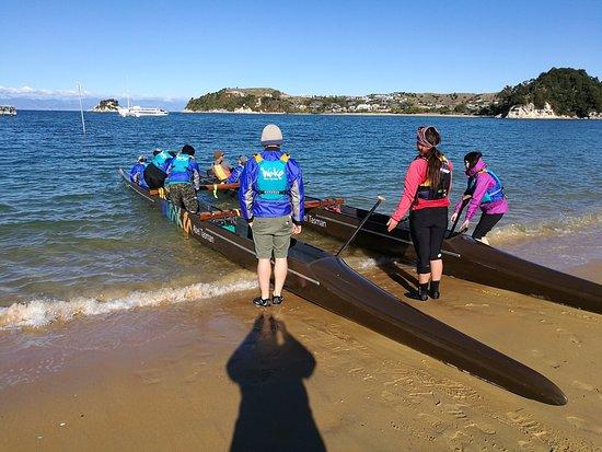 Kaiteriteri, Nova Zelândia: paddling the seas
