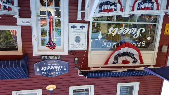 Westport, CT: Outside of Saugatuck Sweets -Fairfield Ct