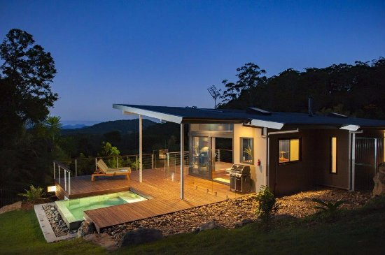 Upper Crystal Creek, Australien: Luxury Mountain View Lodge