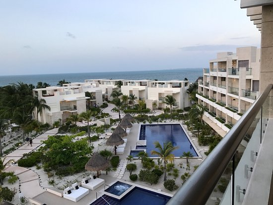 Beloved Playa Mujeres: View from Penthouse Suite terrace.