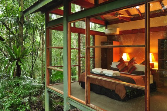 Upper Crystal Creek, Australia: Creekside Spa cabin
