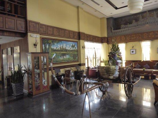 Ohana Phnom Penh Palace Hotel: Lobby im Ohana Phnom Penh Palace (10.11.2016)