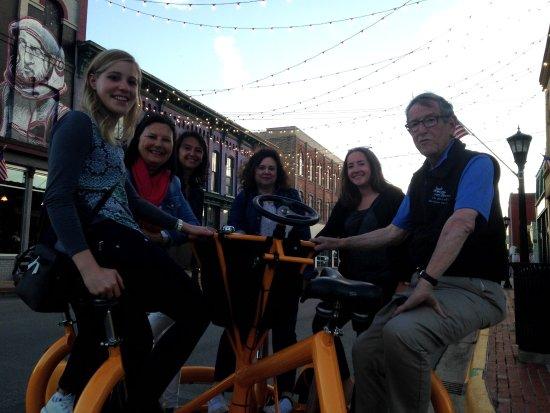 Bay City, MI: Sunrise Pedal Trolley