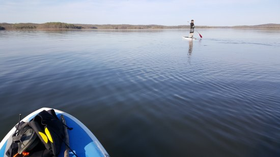 West Baden Springs, IN: Stand UP Paddle on Patoka Lake 812-241-7458