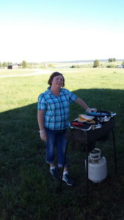 Island Park, ID: The inspiration and cook for the dinners.