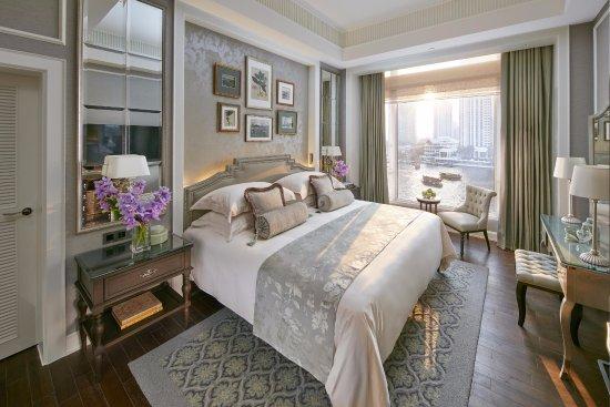 Mandarin Oriental, Bangkok: Garden Wing Bedroom