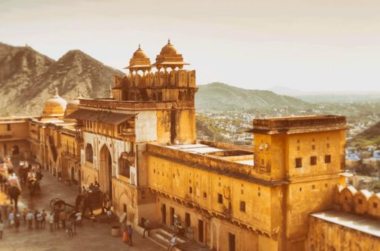 Private Tour: Amber Fort and Jal