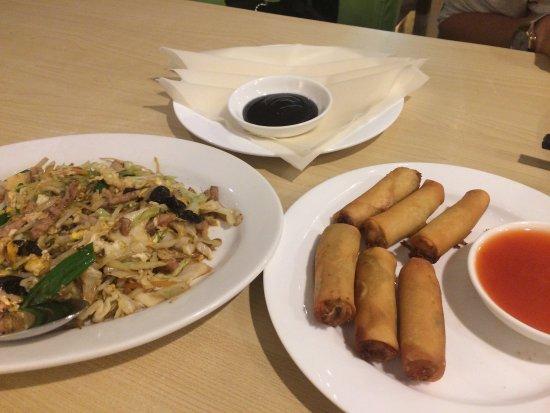 Kirkland, WA: Moo shu pork and spring rolls