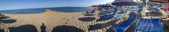 Torre Melissa, إيطاليا: Spiaggia a 360°
