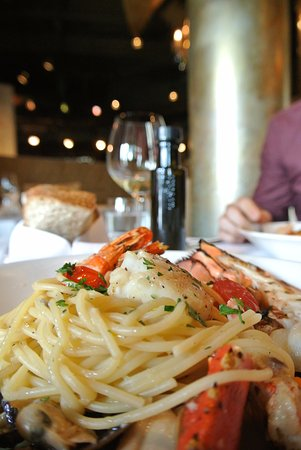 Thornhill, Kanada: Seafood spaghettini