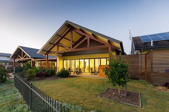 Medowie, Australien: The Greenhouse overlooks the stunning grounds of Pacific Dunes golf course
