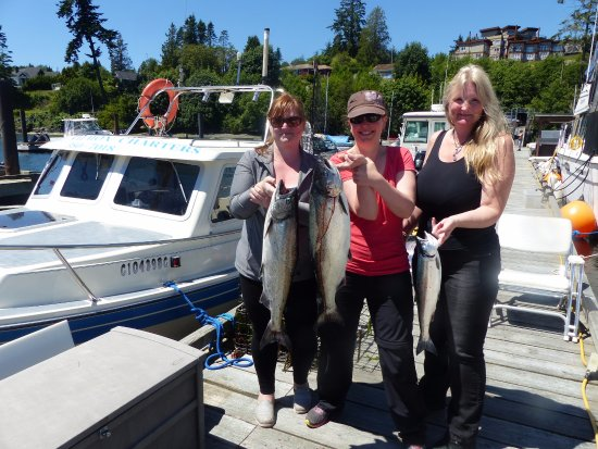 Sooke Salmon Charters: The best things come in small packages.