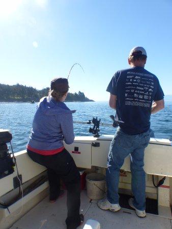 Sooke Salmon Charters : It's a whopper!