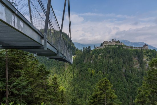 Highline 179 With Ehrenberg Castle In The Background Picture Of