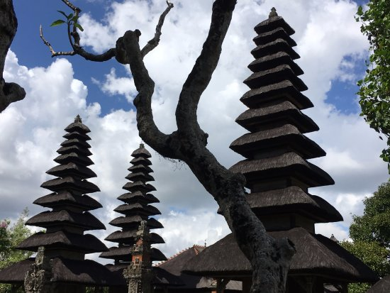 Mengwi, Indonesia: Part of the temple