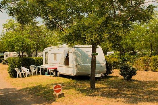 Vic-la-Gardiole, Francia: caravane sur emplacement
