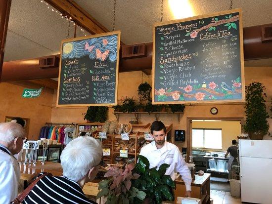 Umpqua, OR: Pretty much the whole menu on the blackboards