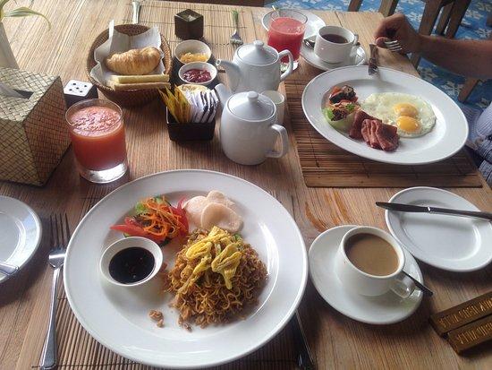 Luwak Ubud Villas: Kahvaltı
