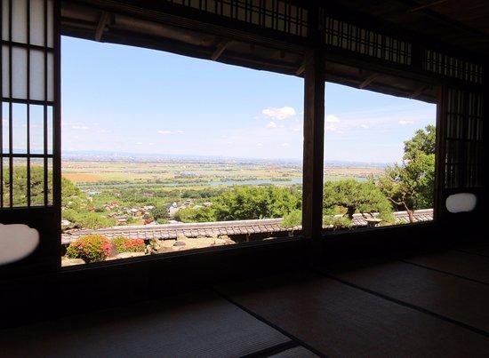 Kaizu, Japan: 月見の間