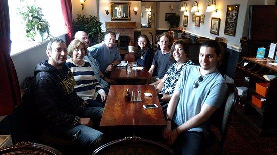 Taunton, UK: Family re-union