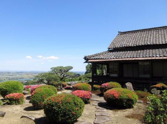 Kaizu, Japan: 書院からの眺めです。