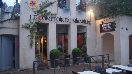 entree picture of le comptoir du mirabillis lons le saunier tripadvisor. Black Bedroom Furniture Sets. Home Design Ideas