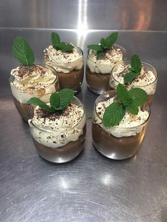 Mudgee, Australia: Chocolate Mousse Irish Baileys cream