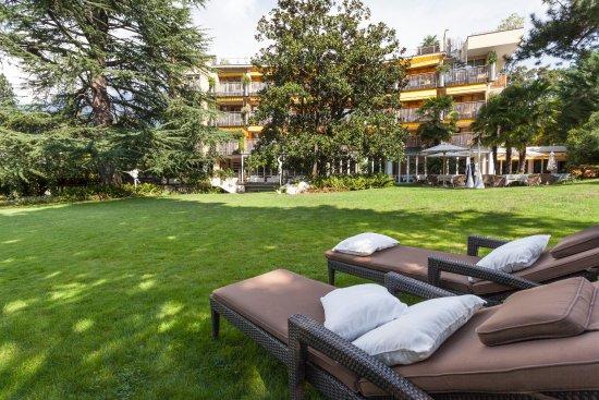 Park Hotel Mignon & Spa: Unser schöner Hotelpark