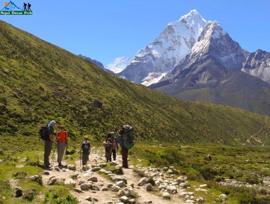 Kathmandu Valley, Nepal: summer trek to Everest Base Camp with Jon's family