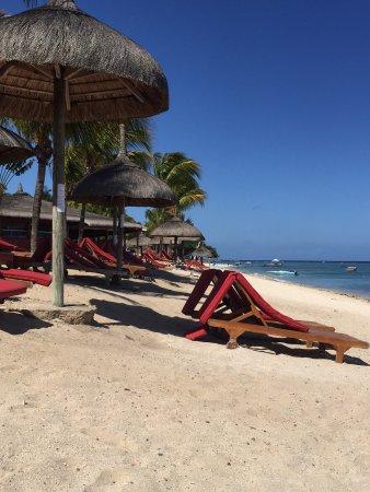 Le Meridien Ile Maurice: Strandbereich