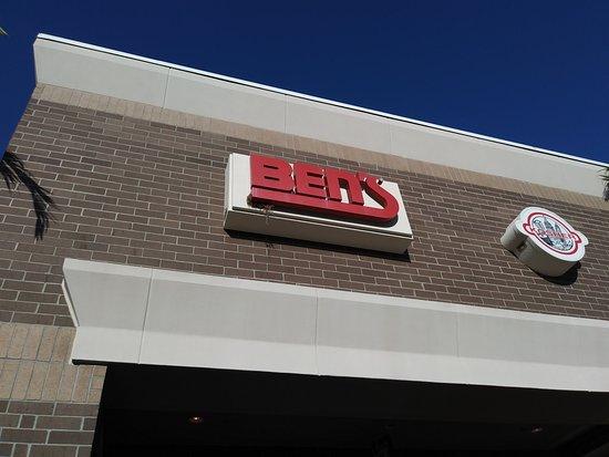 Ben's Kosher Foods and Kosher Catering: Entrance Sign